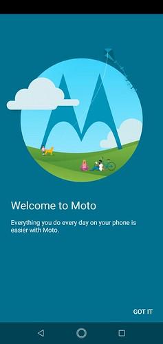 motorola one - screenshots
