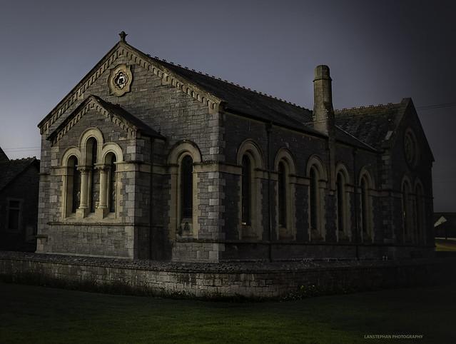 Bude, Methodist Hall. Explored 29/09/18, Nikon D810, AF-S Nikkor 24mm f/1.8G ED