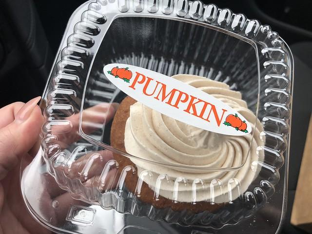 Franks Pastry pumpkin donut