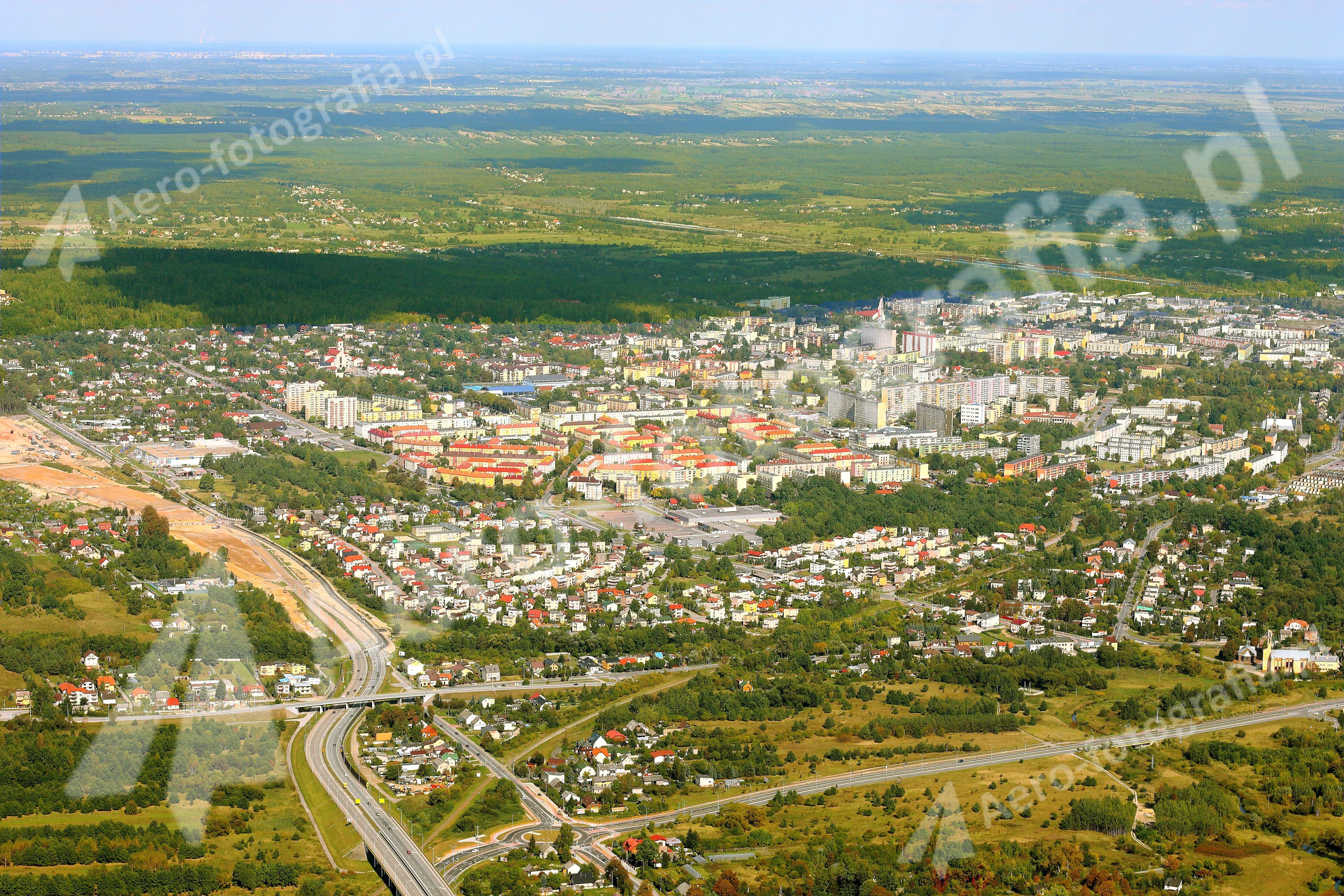Skarżysko-Kamienna - panorama.