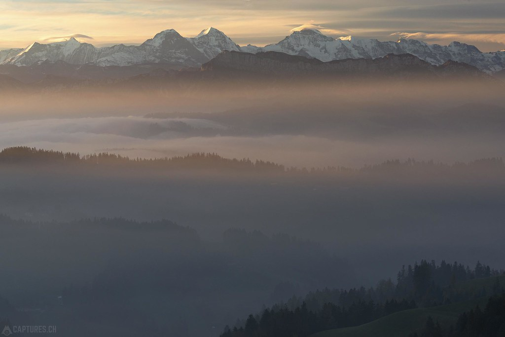 First light - Lüderenalp