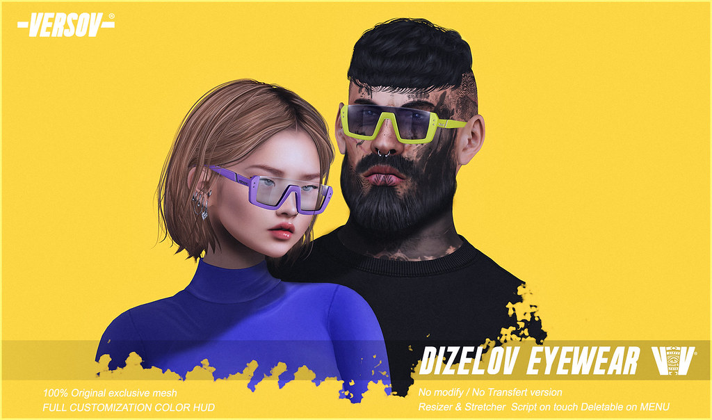 [ VERSOV ] DIZELOV glasses for Kustom9 Event - TeleportHub.com Live!