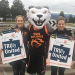 Kendra Murray, Wolfie and Kaileen McCulloch (Oct 9, 2018)