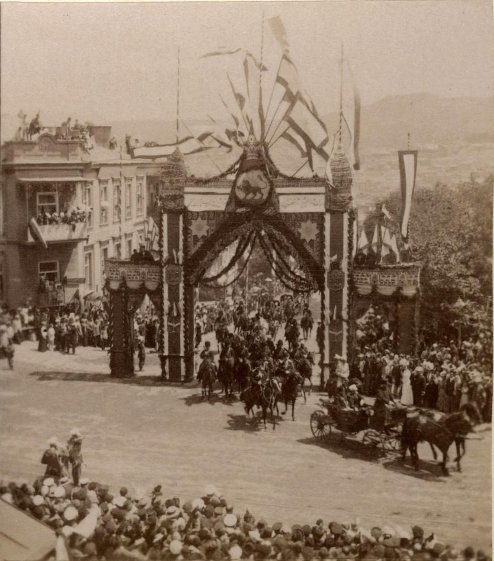 Приезд Шаха Персидского. 15 Мая 1900