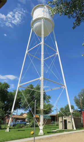Clearmont, Wyoming Water Tower