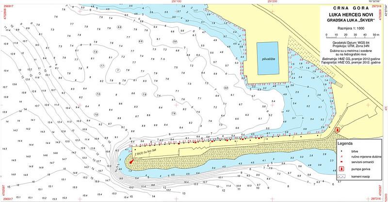 Карта гавани