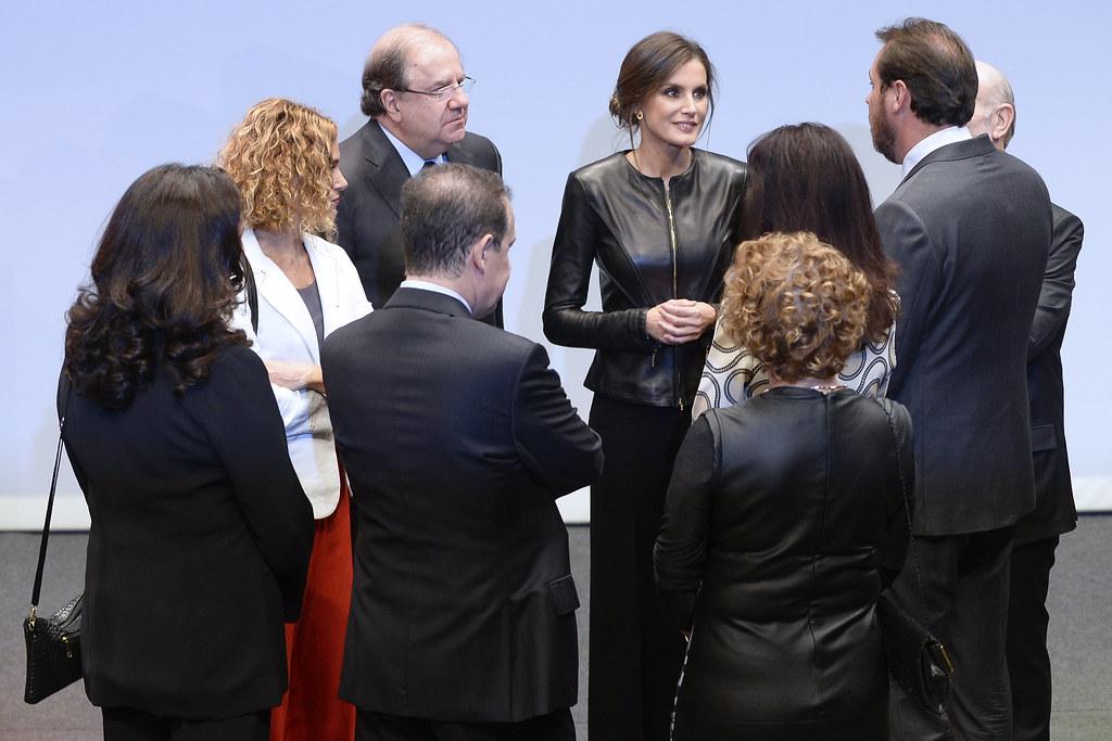 #63Seminci - Visita de la Reina Letizia a la Seminci (26/10/2018)