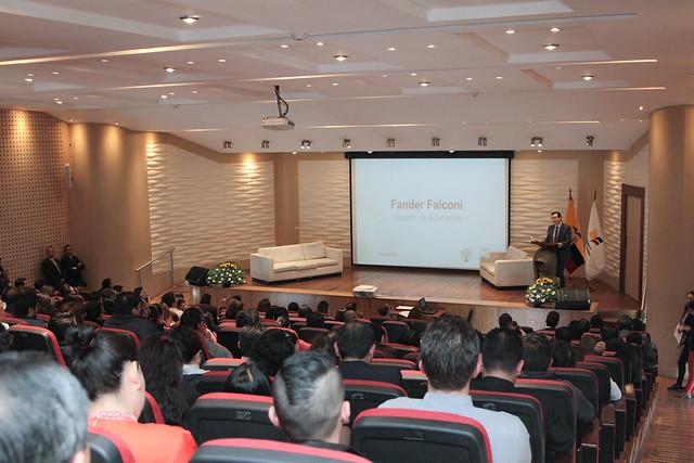 Socialización de Investigación del Ministerio de Educación