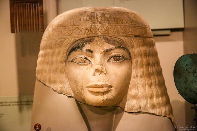 Ancient Egyptian casket