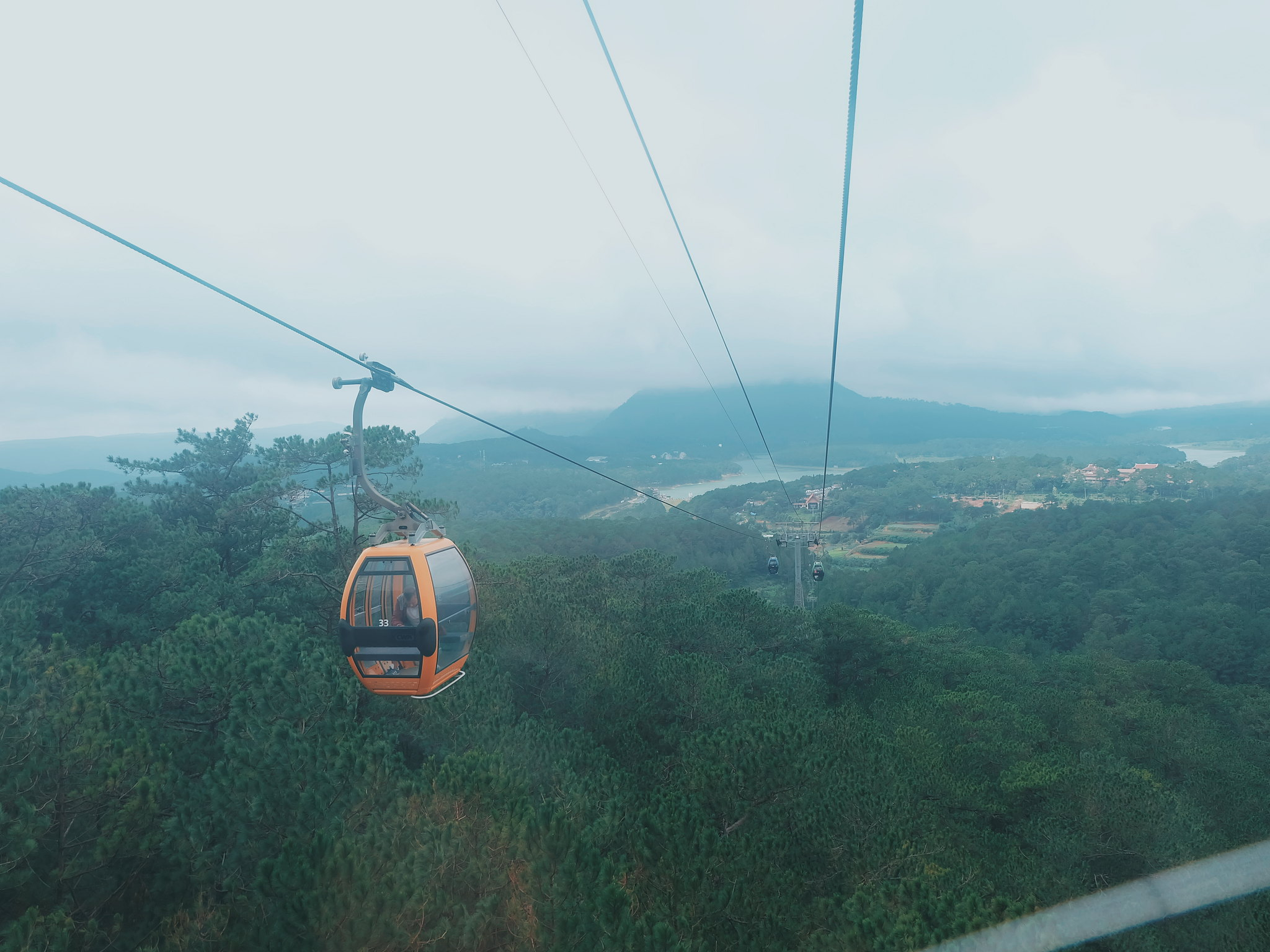 Cable Car to Truc Lam Zen Monastery