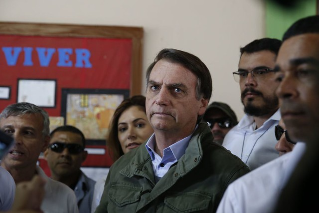 Jair Bolsonaro venceu as eleições com respaldo de 39,2% dos eleitores aptos a votar - Créditos: Agência Brasil