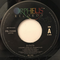 B-FATS:I FOUND LOVE(LABEL SIDE-B)