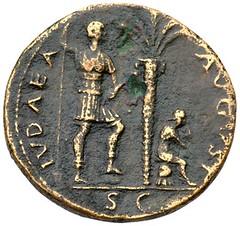 IVDAEA AUGUST sestertius reverse