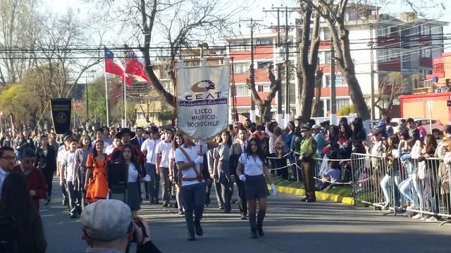 CEAT presente en Desfile de Fiestas Patrias 2018 en San Pedro de la Paz