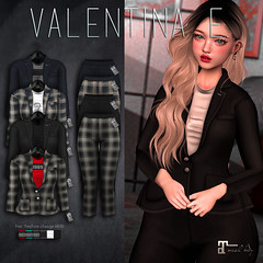 NEW! Valentina E. Angie Suit @ FaMESHed!