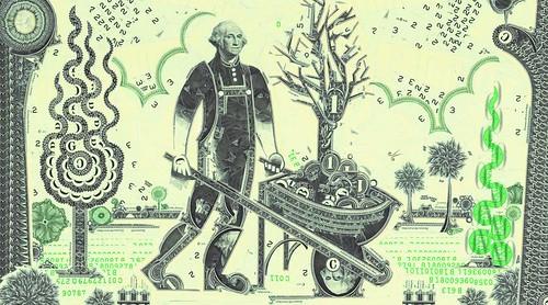 Wagner.Washington wheelbarrow