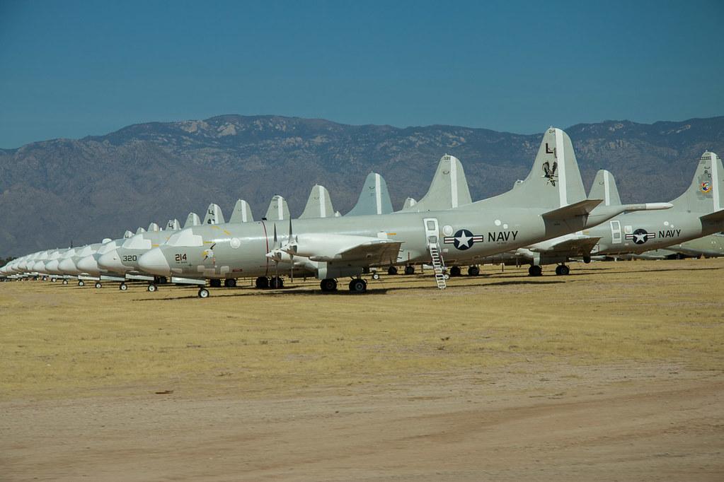 Symmetry of aircraft at Boneyard Tour