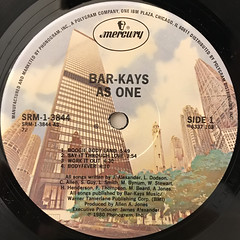 BAR-KAYS:AS ONE(LABEL SIDE-A)