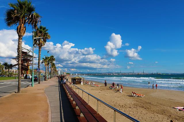 Pineda de mar beach
