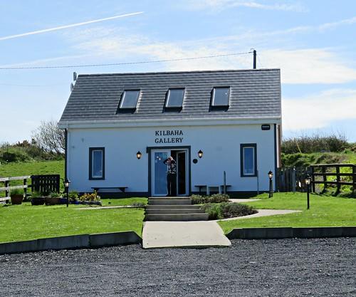 The Kilbaha Gallery in Kilbaha, Co Clare, Ireland