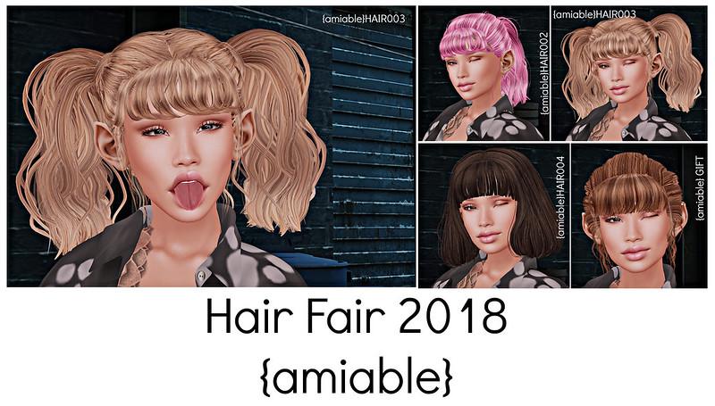 Hair Fair 2018-amiable