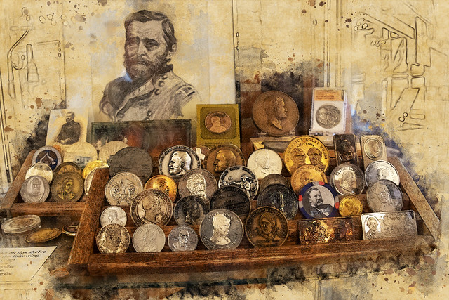 Ulysses Grant coins