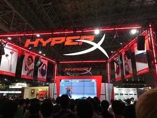 2018 Tokyo Game Show HyperX Booth