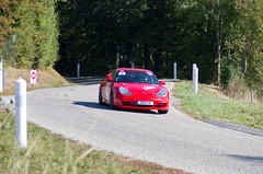 Red Porsche - Photo of Eschwiller