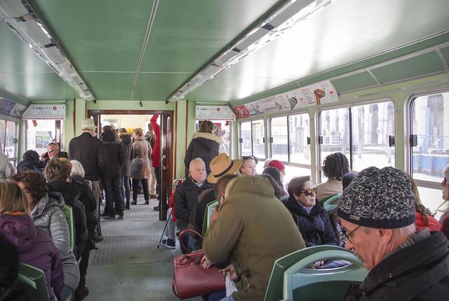 Vaporetto - water bus in Venice