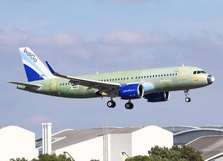 F-WWBU Airbus A320 Néo Indigo