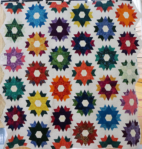 133: Hexagonal Flowers - Rachel Baumgartner
