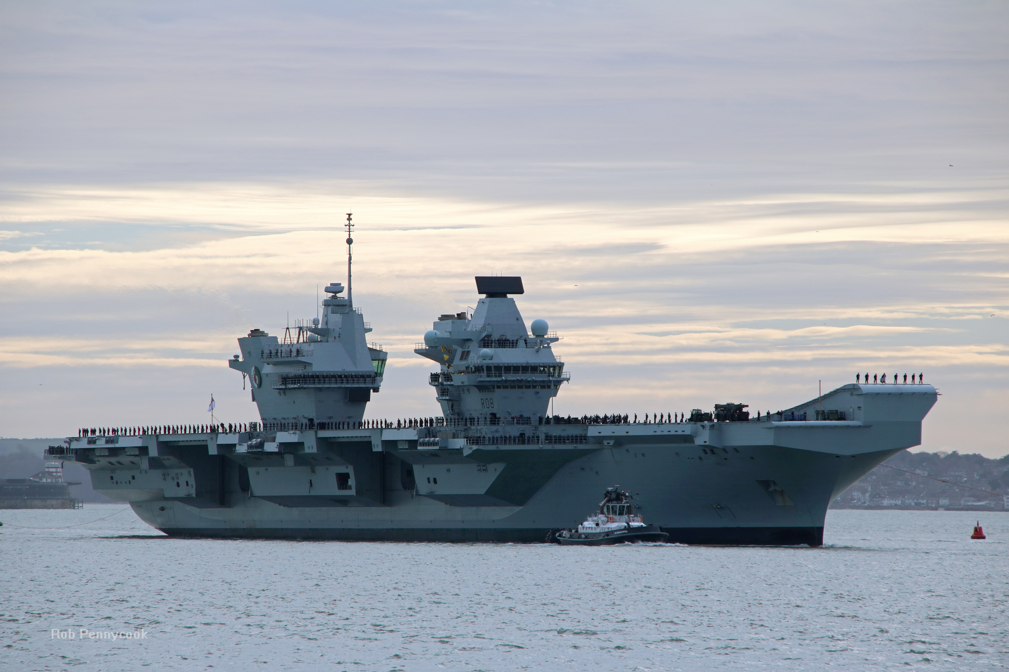 Aircraft Carrier (HMS Queen Elizabeth & HMS Prince of Wales) - Page 30 44443147050_01a5315cfd_o