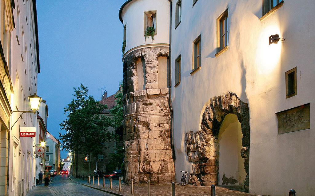 · Regensburg en un día · Porta Praetoria, Regensburg ·