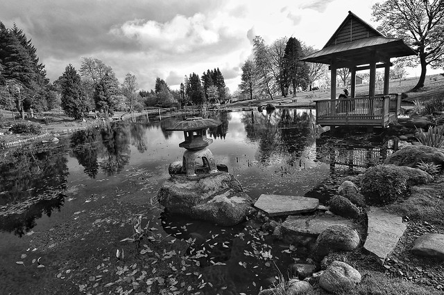 ....Japanese Garden, Cowden Castle....