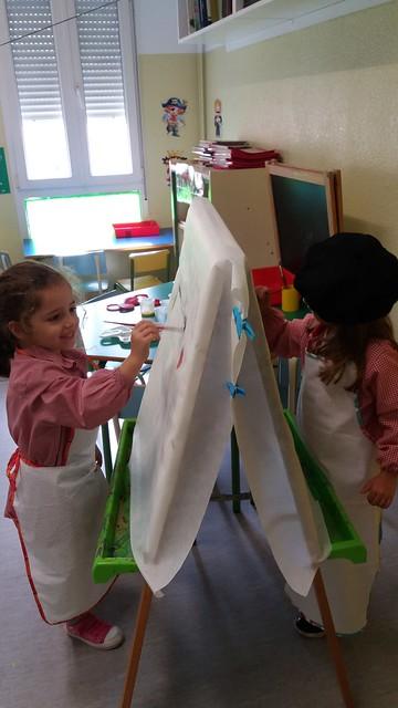Somos pintores (vivimos el arte).