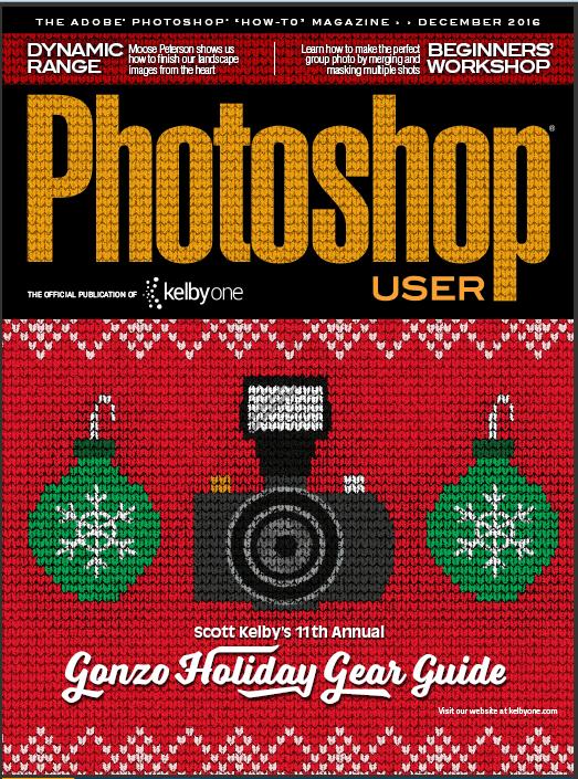 "The magazine ""Photoshop User"" – December 2016 (English)"
