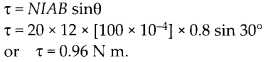 NCERT Solutions for Class 12 Physics Chapter 4 Moving Charges and Magnetism 12