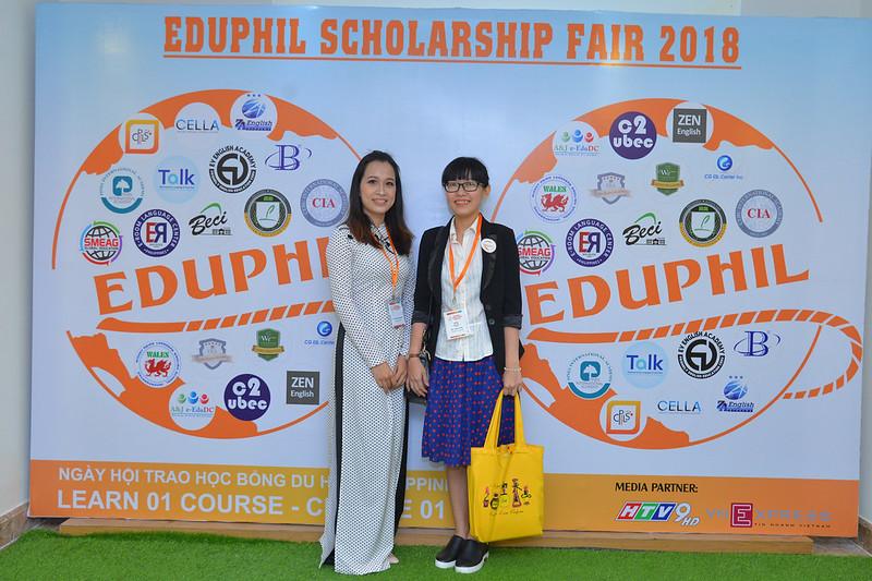 Trường CEA tại EDUPHIL FAIR 2018