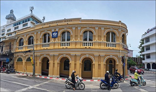 Standard Chartered Bank Building in Old Phuket Town