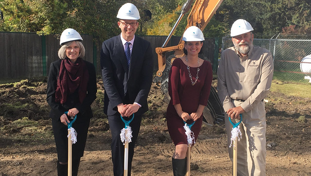 Northern Lakes College breaks ground on new campus