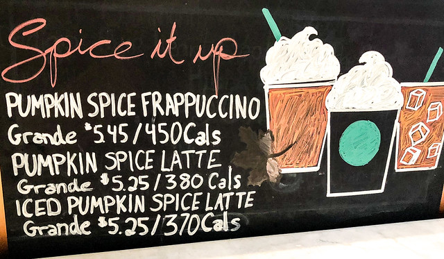 The Drinks of Summer & Pumpkin Spice Invasion