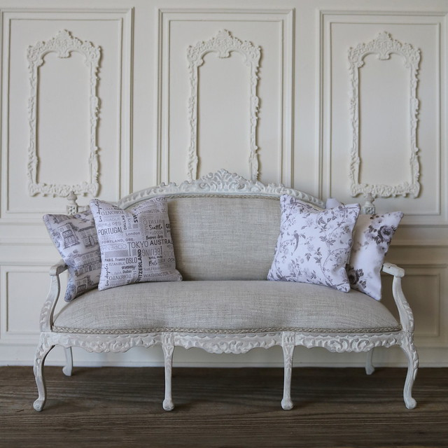 1:6 scale french rococo sofa style