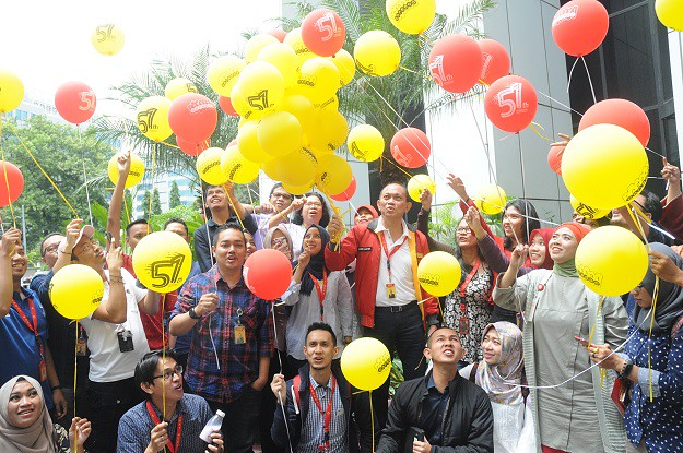 Indosat Ooredoo dan Transformasi People di HUT ke 51