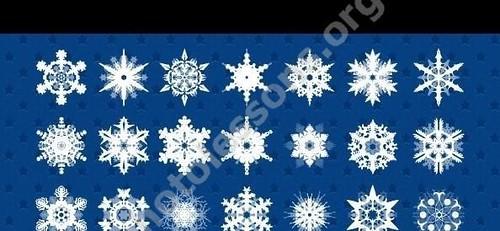 Снежинки для Фотошоп
