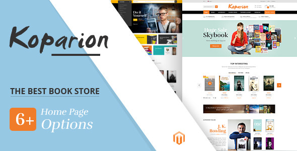 Koparion v1.0 - Book Shop Responsive Prestashop Theme