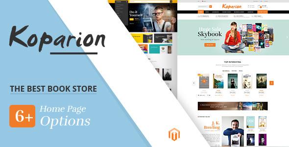 Koparion v1.0 - Book Shop Responsive Prestashop Theme