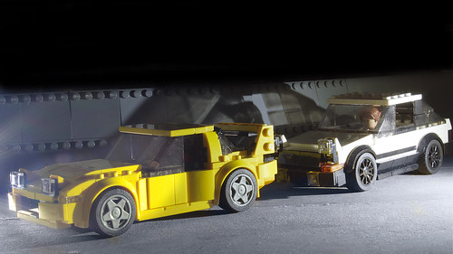 Lego Mazda RX-7 from Intial-D