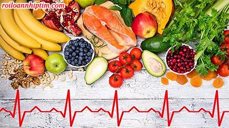 Người bệnh rung nhĩ cơn nên ăn nhiều rau, củ, quả