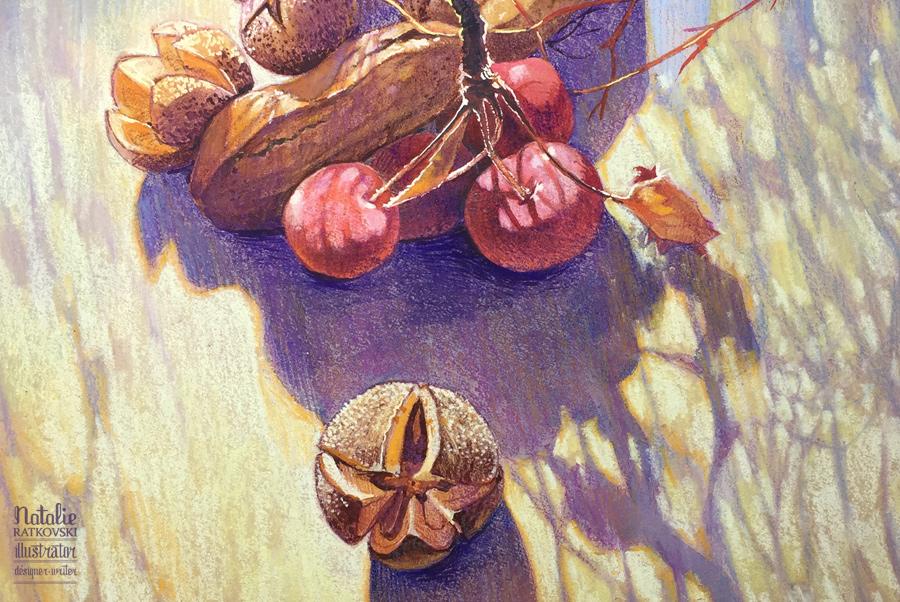 Nuts, detail