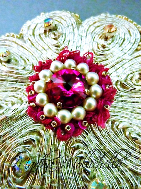Goldwork Embroidery Jewelry